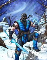Sub Zero Mortal Kombat X by Daniel-Jeffries