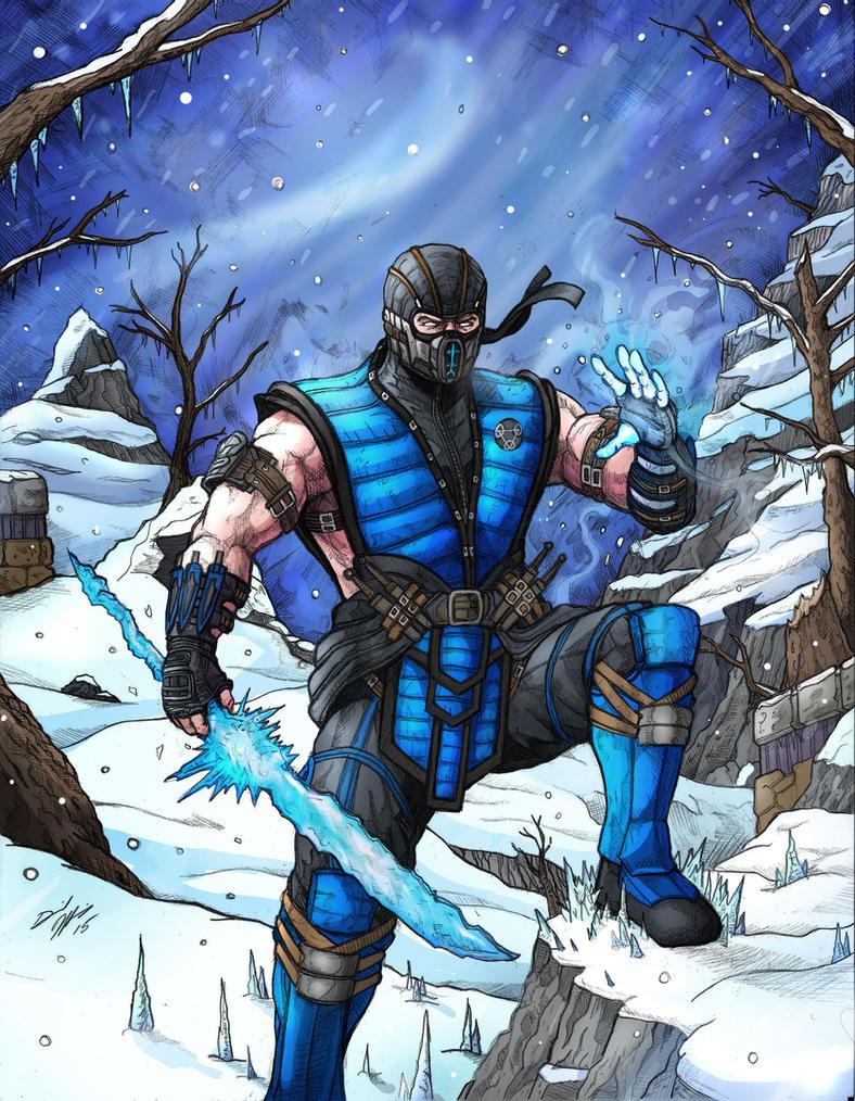 Mortal Kombat X Sub Zero Deviantart Sub Zero Mortal Kombat...