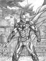 Batman Arkham Knight by Daniel-Jeffries
