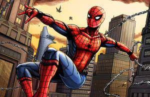 Spider-Man Civil War by Daniel-Jeffries