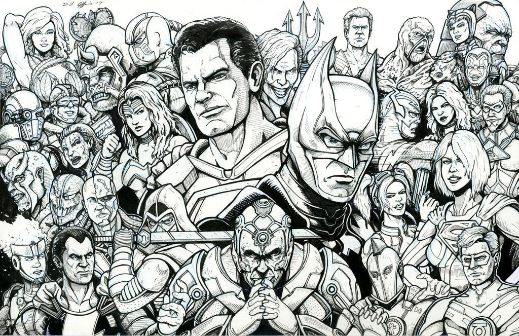 Injustice 2 by Daniel-Jeffries