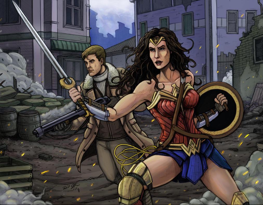 Wonder Woman by Daniel-Jeffries