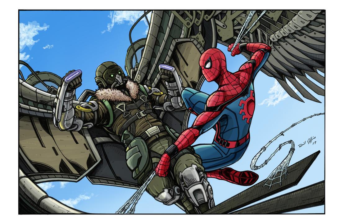 Spiderman Homeing by DanielJeffries on DeviantArt