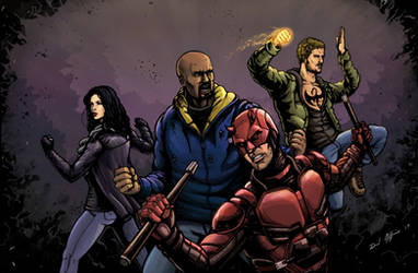 Defenders by Daniel-Jeffries