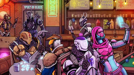 The Vault of Glass Bar - Destiny 2 by Daniel-Jeffries