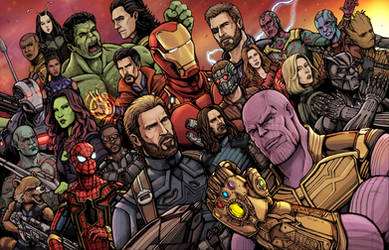 Avengers Infinity War (Youtube) by Daniel-Jeffries