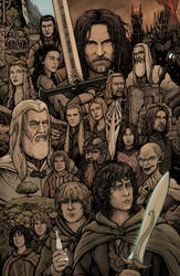 Lord of the Rings by Daniel-Jeffries