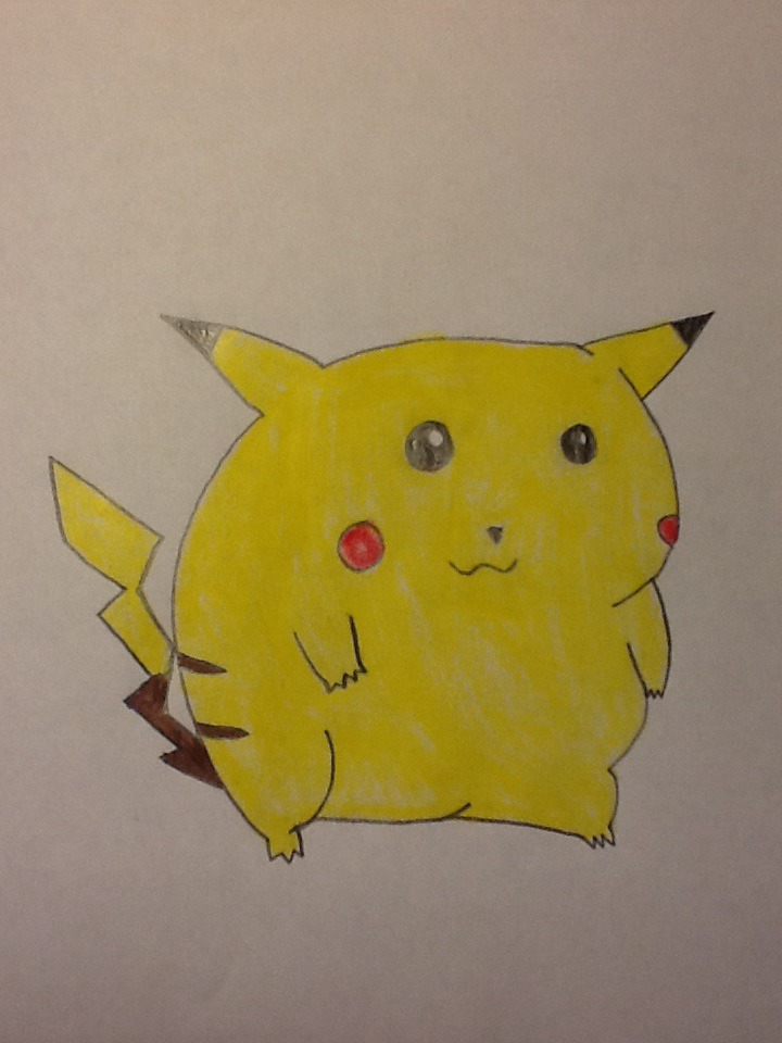 An old Pikachu drawing by HispanicOrca