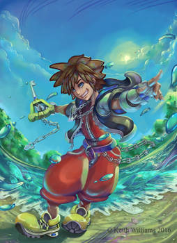 Sora Cyclone by DeadArts