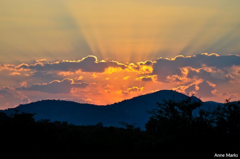 Sunset 001 by AnneMarks
