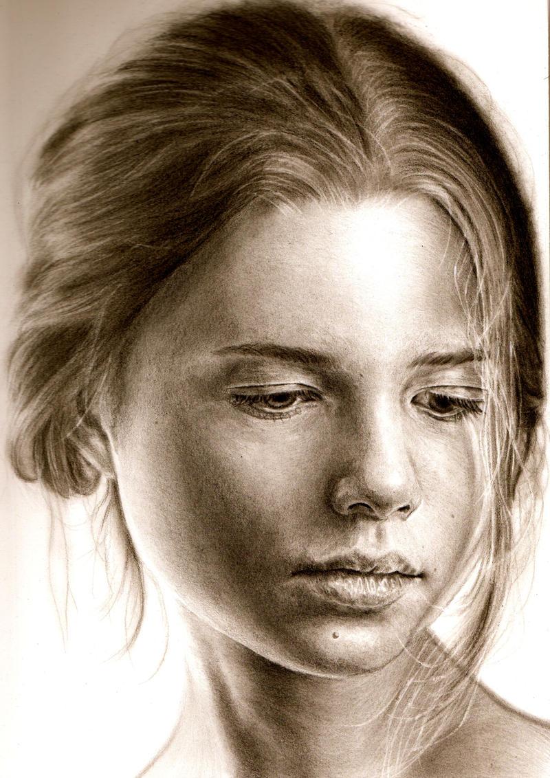 a girl by kk-art