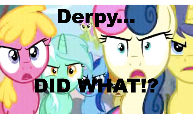 Derpy did WHAT by Mackilla