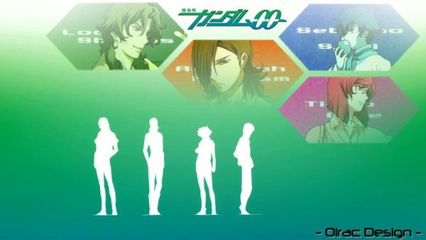 Gundam 00 - Wallpaper by Olrac87