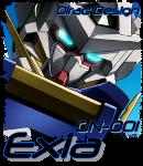 Gundam Exia - Avatar by Olrac87