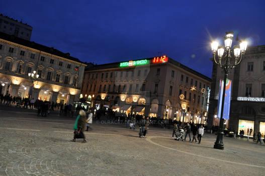Piazza S.Carlo Blue Hour II