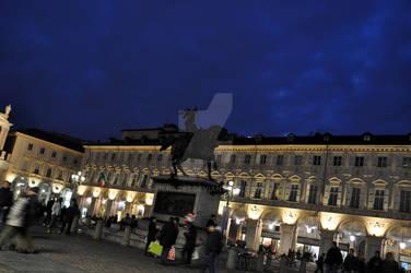 Piazza S.Carlo Blue Hour III
