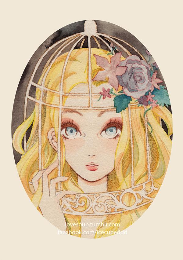 Rapunzel by LoveSoup