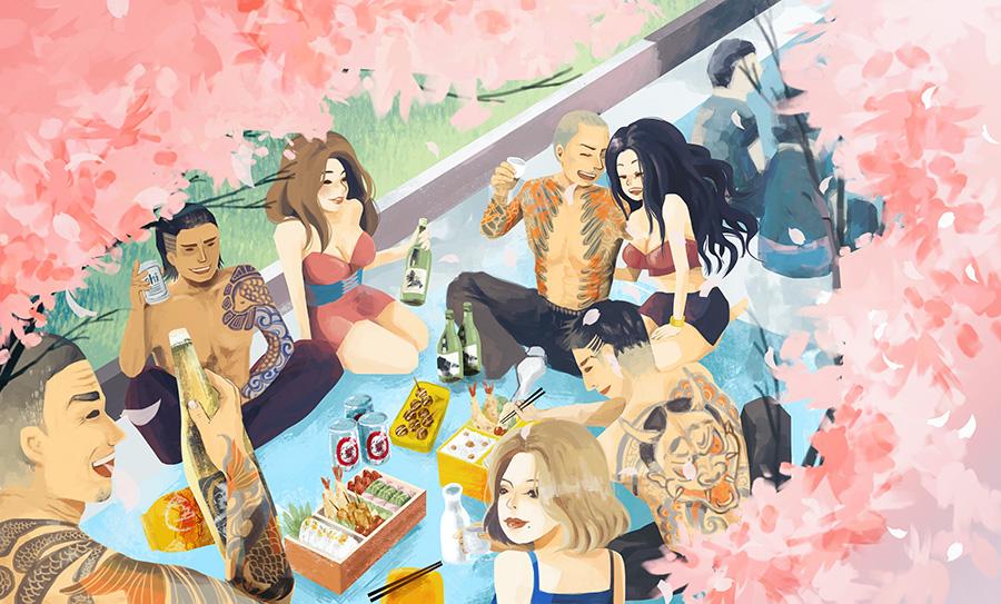 Tokyo Yakuza by LoveSoup