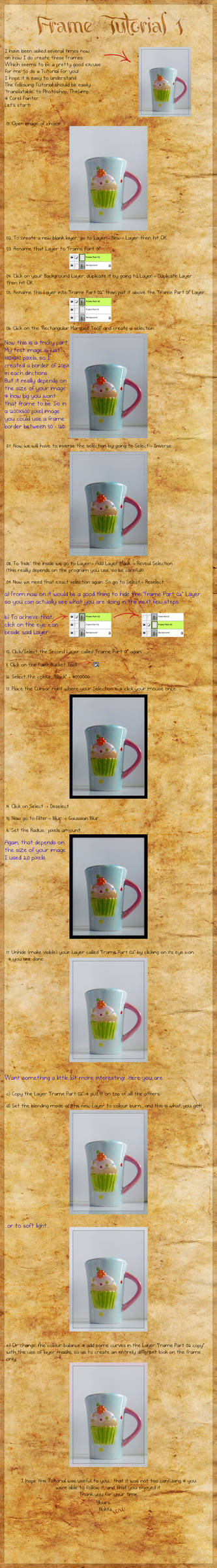 Frame Tutorial 01 by PinkPanthress-Stock