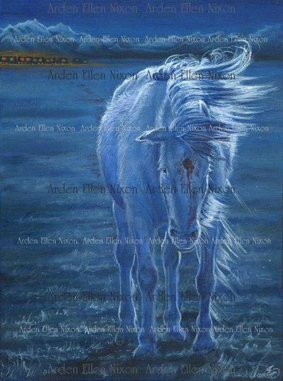 The Last Unicorn by ArdenEllenNixon
