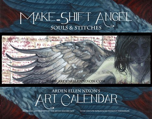 Make-Shift Angel Calendar by ArdenEllenNixon