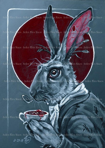 March Hare by ArdenEllenNixon