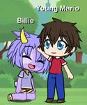Mario X Billie: Petting