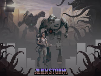 Alien Storm Project Compilation by MikeCoombsArt