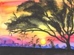 October Sunset by MidnightTiger8140