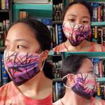 ~Face Mask~ Summer Corn Sunset