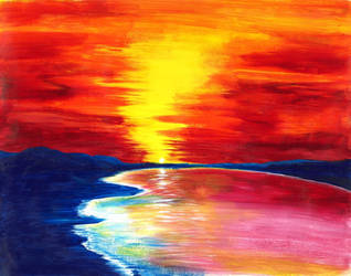 Saturated Sunset
