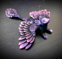 Pink/purple- winged cat (PYO)