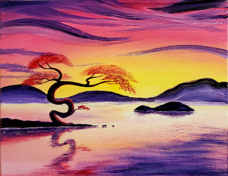 Tranquility in Color