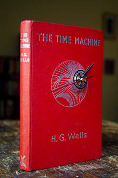 'The Time Machine' Book Clock