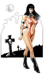 Vampirella by Reverie-drawingly