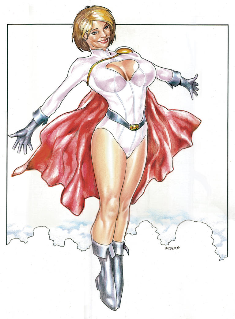 Power Girl by Reverie-drawingly