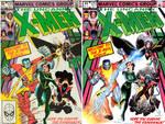 X-men cover recreation