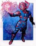 Galactus creates the Silver Surfer