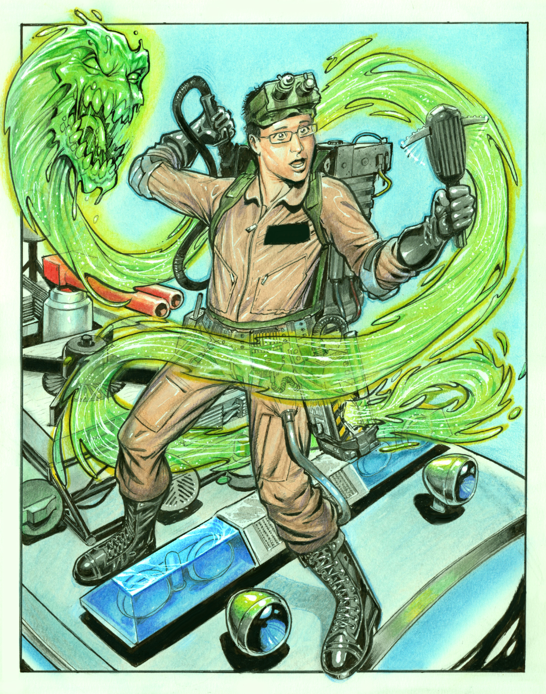 Ghostbusters art by Reverie-drawingly