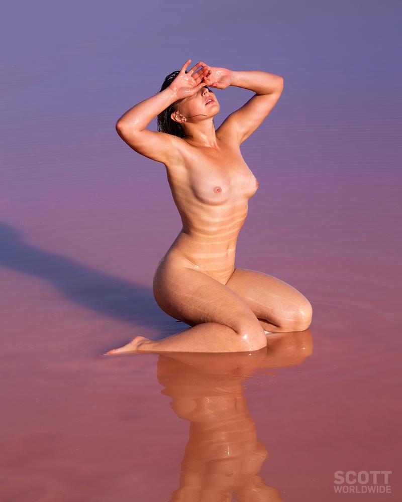 Anastasia Arteyeva -Salt pond Sicily by Scottworldwide
