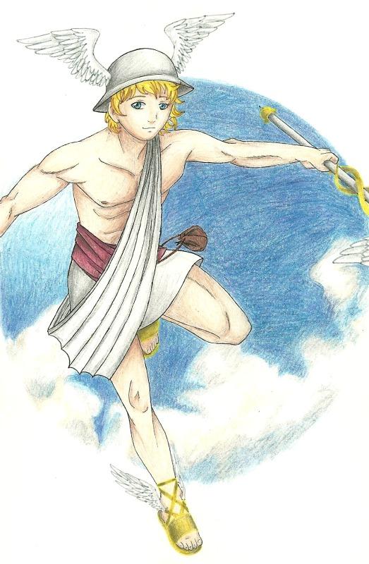 hermes messenger god story