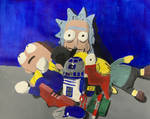 Still Life Painting #1 - Rick and Morty