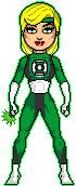 Green Lantern of Earth Realm, Sonya Blade by FalconLord92