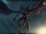 Dark Storm Dragon Yami Yugi by ZatinaKicksAscot