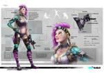 Falka - Character Concept