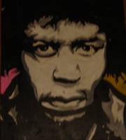 Jimi Hendrix by piesoup