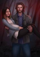 Sam and Kelly by CarlosVasseur
