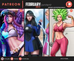 Patreon February 2019 rewards