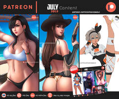 Patreon July 2019 Content Summary