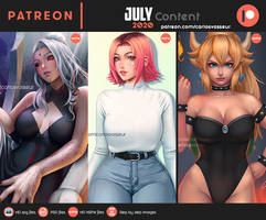 July Content 2020 Summary